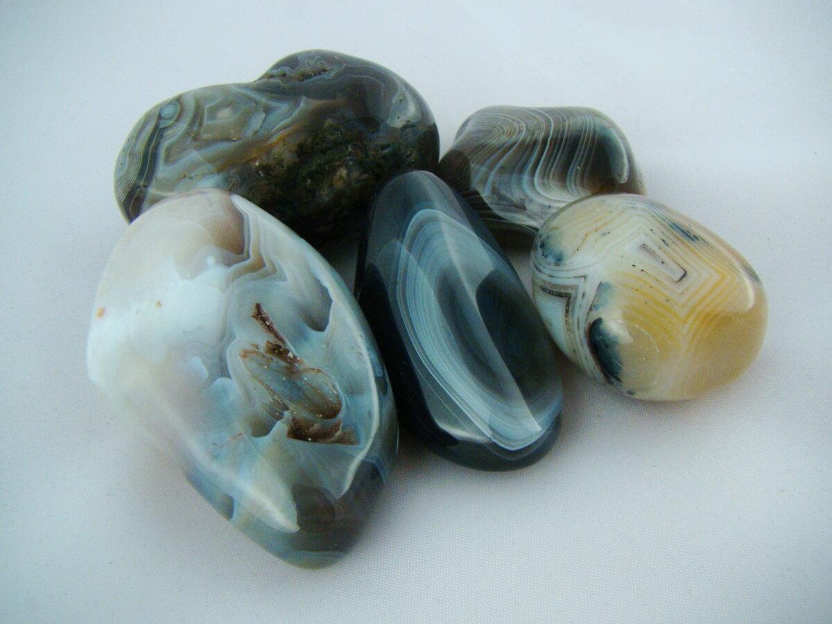 Камень агат натуральный
