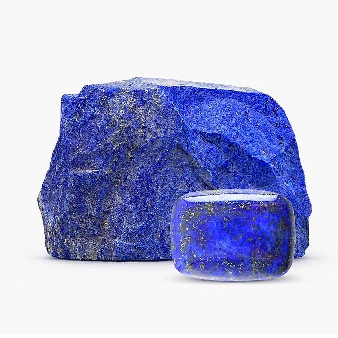 Камень лазурит натуральный