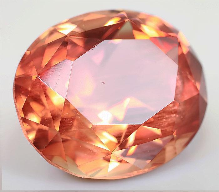Солнечный камень огранённый